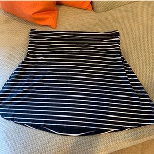 Striped cotton Old Navy skirt